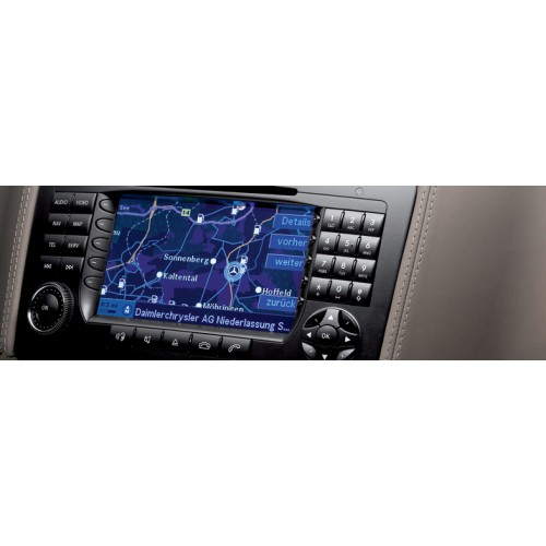 mercedes command aps ntg1 v19 navigation map sat nav. Black Bedroom Furniture Sets. Home Design Ideas