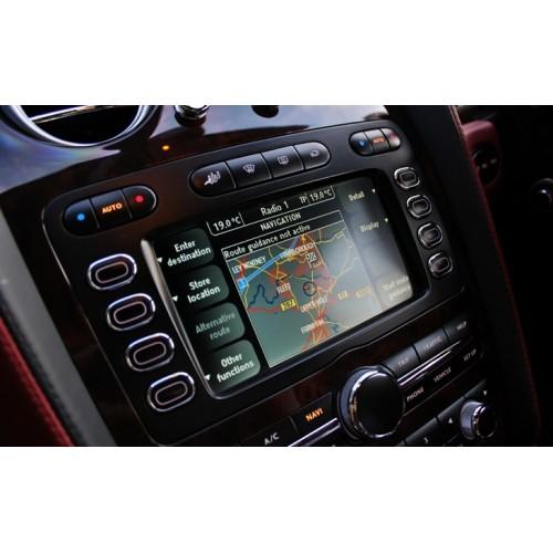 2018 Bentley Navigation sat nav update disc Europe DVD