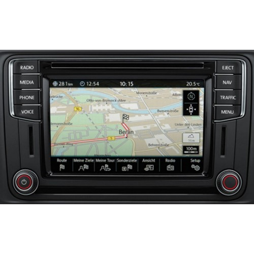 SKODA AMUNDSEN GEN2 MIB2 SD Card Sat Nav Navigation Map 2019