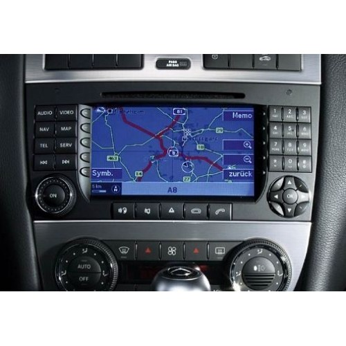 mercedes ntg2 comand aps v18 navigation dvd map sat nav