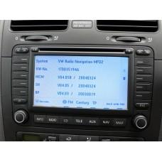 SKODA Navigation MFD2 TravelPilot DX Sat Nav Update Disc CD 2014