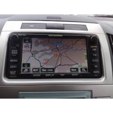 2018-2019 Toyota Navigation TNS 600/700 sat nav map update DVD disc E1G