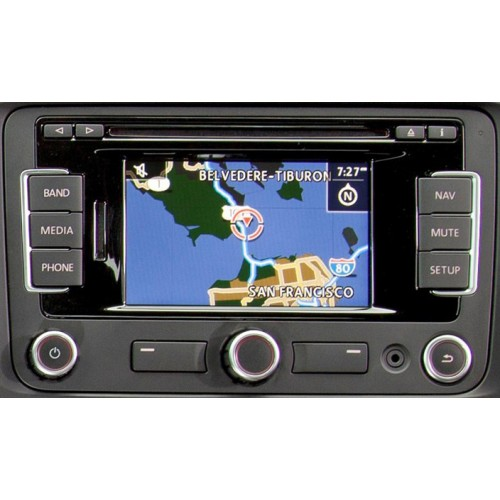 skoda amundsen rns310 fx v4 2012 2013 sat nav disc cd. Black Bedroom Furniture Sets. Home Design Ideas